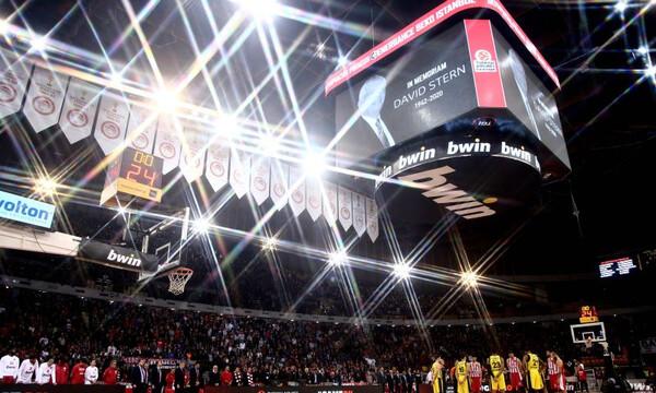 Ολυμπιακός -  Φενέρμπαχτσε: Ενός λεπτού σιγή για τον Ντέιβιντ Στερν