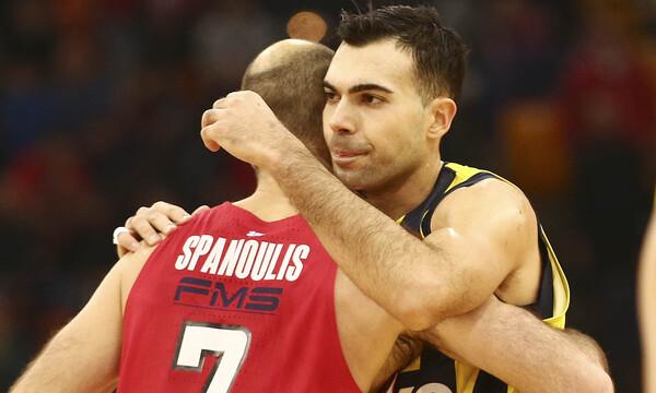 Σλούκας: «Είμαι περήφανος για τον Σπανούλη, αξίζει να μείνει σ' αυτή τη θέση»