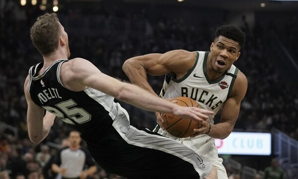 NBA: Νέο σόου από Αντετοκούνμπο, νέα νίκη για Μπακς (photos+video)