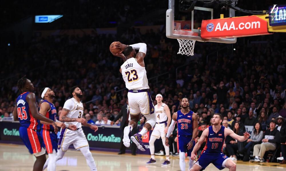 NBA: Ασταμάτητοι Λέικερς (video)