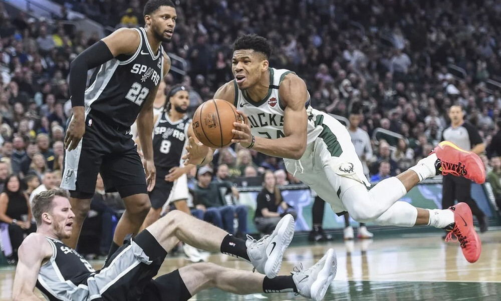 NBA: Σταμάτησαν τους Μπακς οι Σπερς (photos+video)