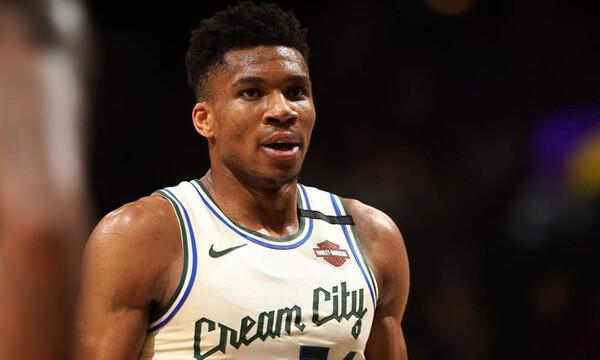 NBA: Το απίστευτο post των Μπακς για Αντετοκούνμπο (photos)
