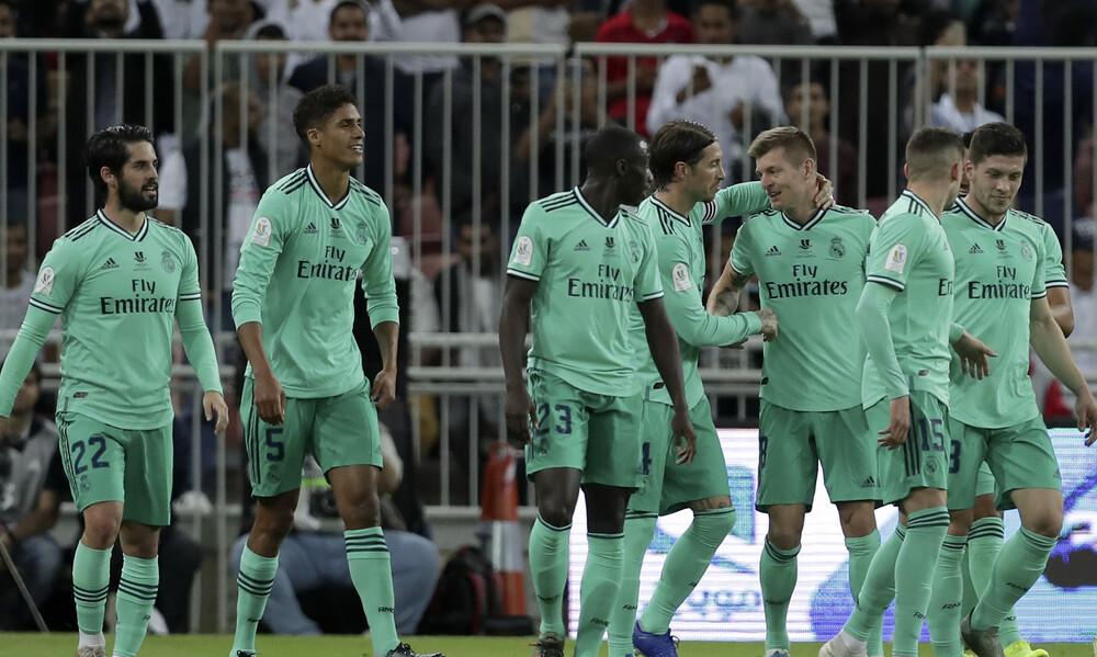 Βαλένθια-Ρεαλ Μαδρίτης 1-3: Έκλεισε εύκολα θέση στον τελικό (video)