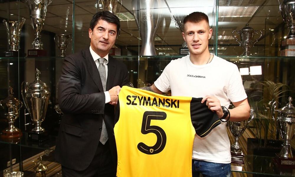 ΑΕΚ: Επίσημα «κιτρινόμαυρος» ο Σιμάνσκι (photos)