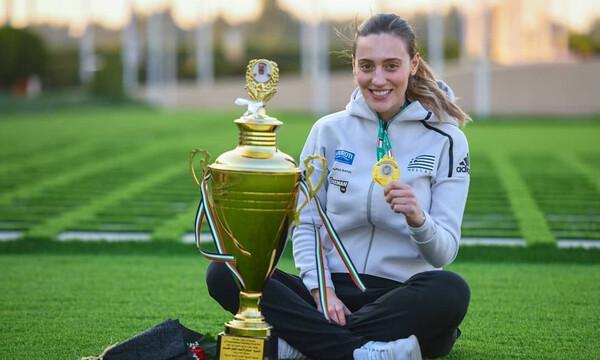 Άννα Κορακάκη: Ξεκίνησε με χρυσό μετάλλιο το 2020! (photos)