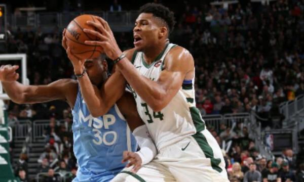 NBA: Εύκολα οι Μπακς με ασταμάτητο Γιάννη! (photos+video)