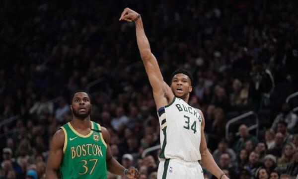 NBA: Γιάννης λαμπρός οδηγεί τους Μπακς! (video)