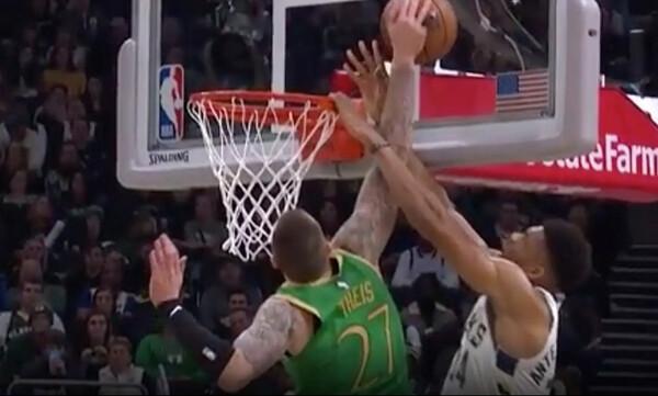 NBA: Ο Τάις… κατέβασε τον γενικό στον Γιάννη (video)