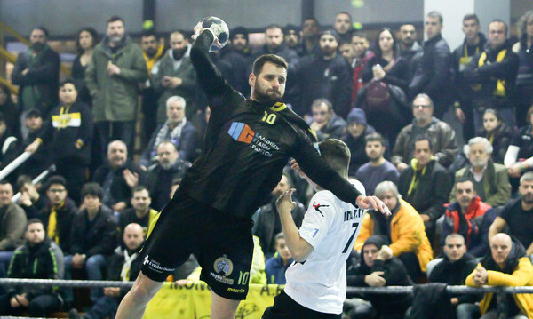 Α1 Χάντμπολ Ανδρών: Νικήτρια η ΑΕΚ στο ντέρμπι «Δικεφάλων»