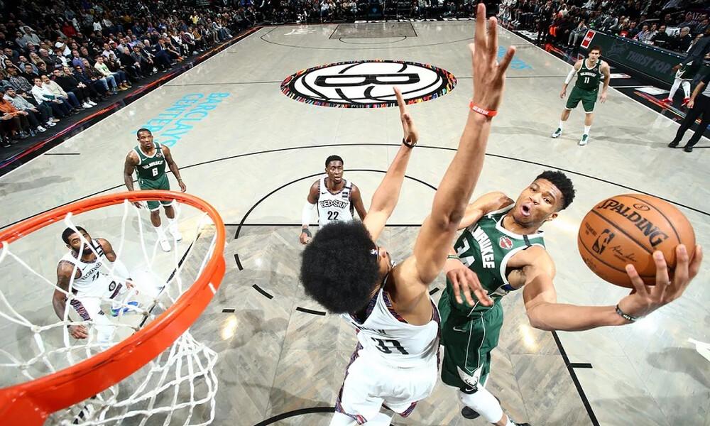 NBA: Τα highlights του Γιάννη Αντετοκούνμπο (video)