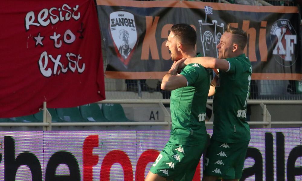 Ξάνθη – Παναθηναϊκός 0-1: Μάγκικο διπλό στα «Πηγάδια»! (video+photos)