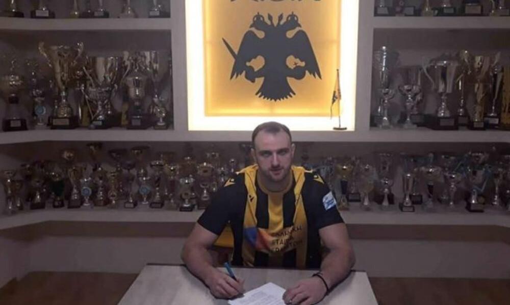 Ανακοίνωσε Κριτοκόιου η ΑΕΚ