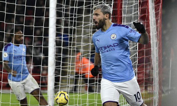 Premier League: Λύτρωσε την Μάντσεστερ Σίτι ο Αγουέρο (videos)