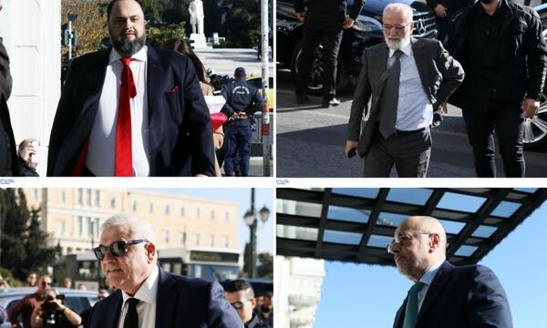 Συνάντηση Big 4: Οι πρώτες εικόνες από το κρίσιμο ραντεβού για το ελληνικό ποδόσφαιρο (photos)