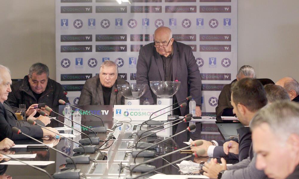 Κύπελλο Ελλάδας: Αυτά είναι τα ζευγάρια στα προημιτελικά