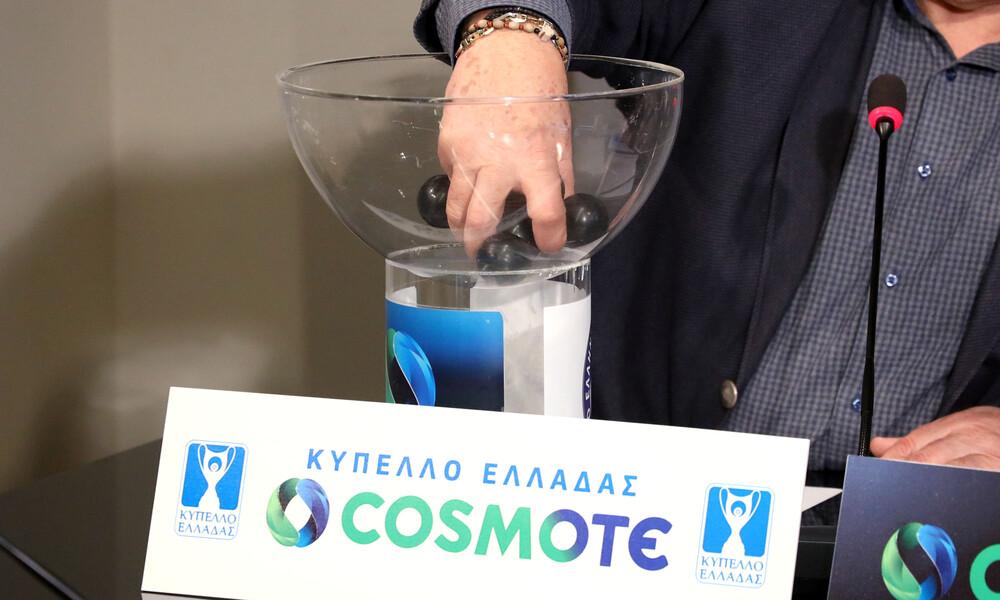 Κύπελλο Ελλάδας: Δείτε όλη την κλήρωση των προημιτελικών (video)