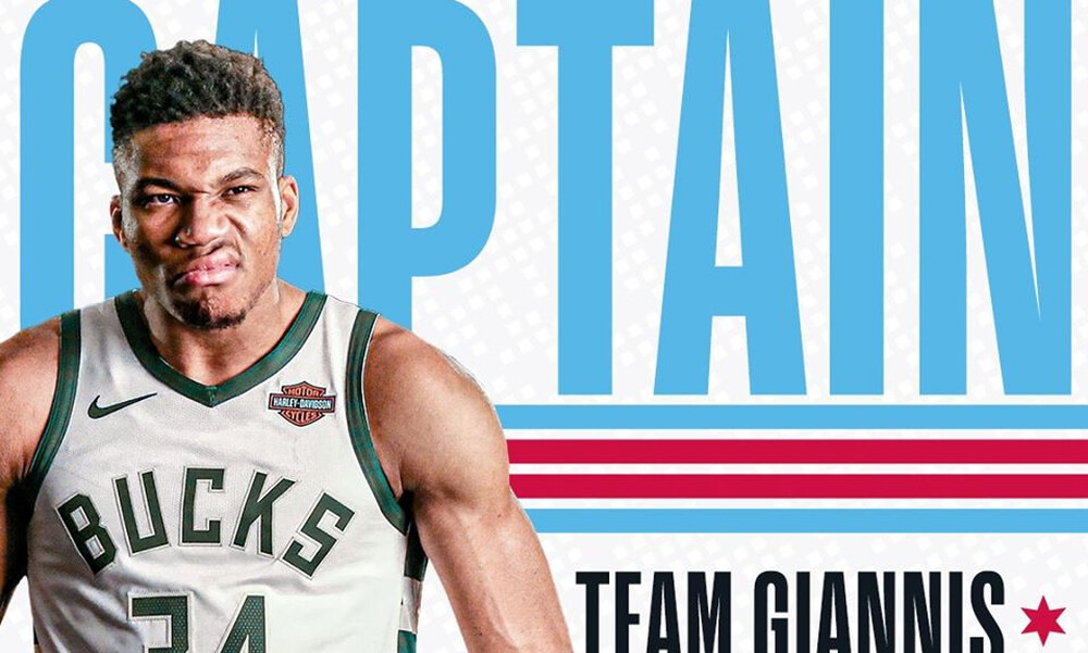 NBA All Star Game: Αρχηγός και πάλι ο Γιάννης! (photos+videos)