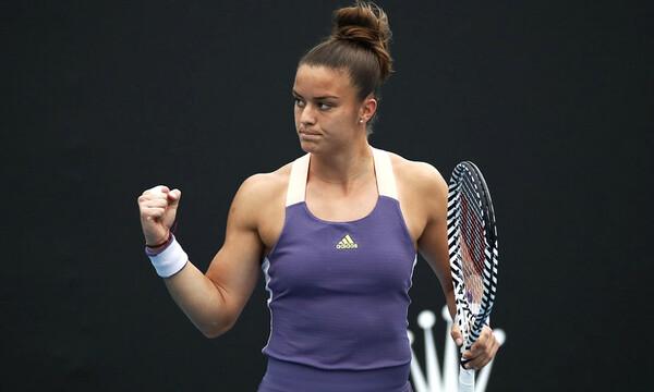 Μαρία Σάκκαρη: Τεράστια νίκη και πρόκριση στον 4ο γύρο!