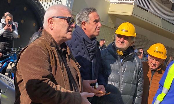 ΑΕΚ: Επιθεώρησε την «Αγιά Σοφιά» ο Μελισσανίδης (photos)