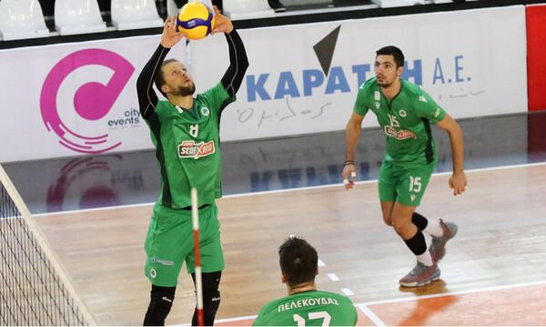 Volleyleague: Εύκολο 3-0 για τον Παναθηναϊκό κόντρα στον ΟΦΗ