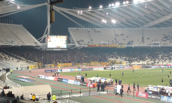 ΑΕΚ – Ολυμπιακός: Γεμάτο το «κιτρινόμαυρο» πέταλο για το ντέρμπι! (video+photos)