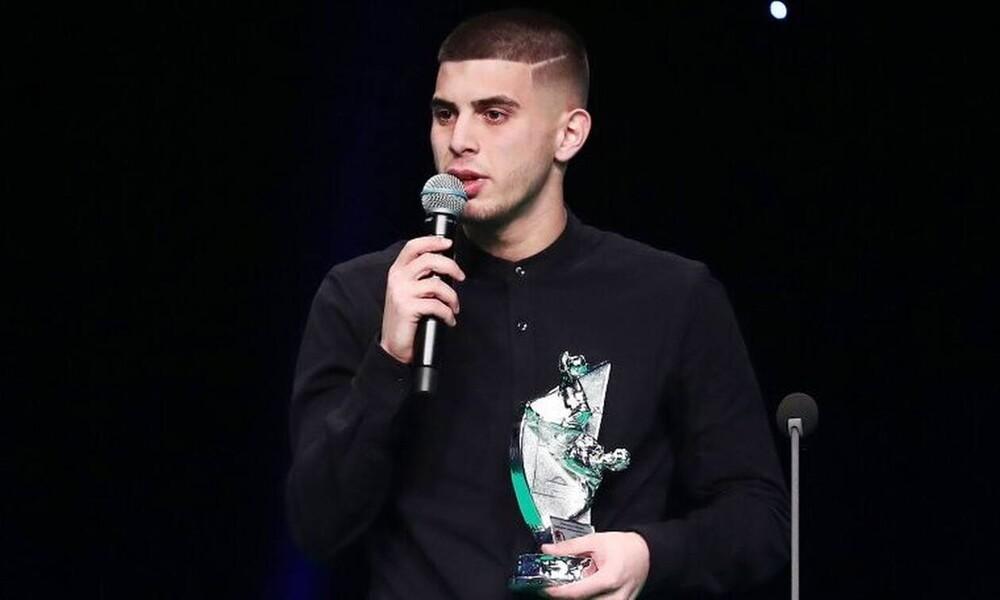 Βραβεία ΠΣΑΠ: Καλύτερος νέος ποδοσφαιριστής ο Μπουζούκης