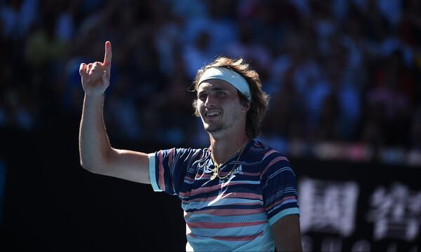 Australian Open: Ο Ζβέρεφ προκρίθηκε στους ημιτελικούς (video)