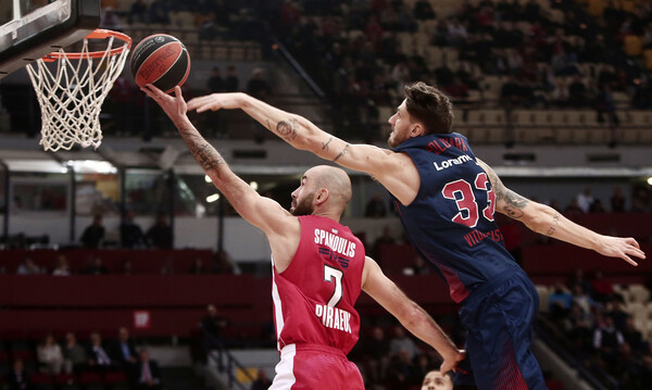 Euroleague: Η θέση του Ολυμπιακού μετά τη νίκη κόντρα στην Μπασκόνια (photo)
