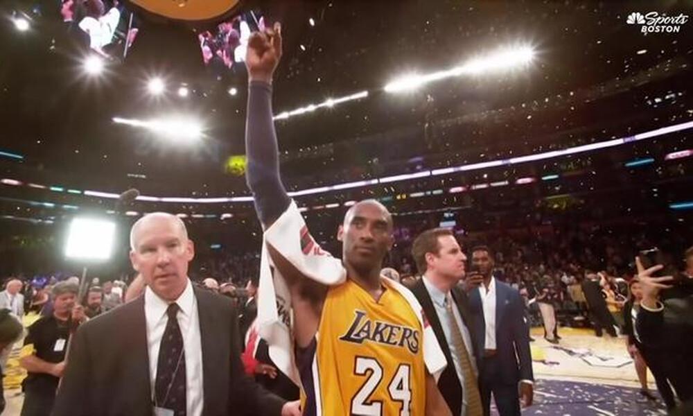 NBA: Φόρο τιμής οι Σέλτικς στον Κόμπι Μπράιαντ (videos)