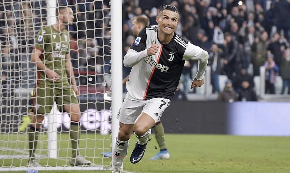«Σαρώνει» την Serie A ο Κριστιάνο Ρονάλντο
