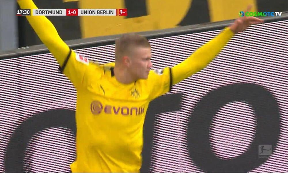 Τρελαίνει κόσμο ο Χάαλαντ με έξι γκολ σε μόλις 77 λεπτά συμμετοχής με τη Ντόρτμουντ! (video)