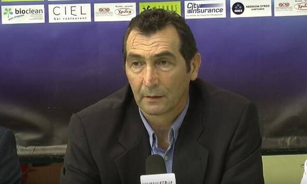 Ανδρεόπουλος: «Συγχαρητήρια στην ομάδα μου για την νίκη»