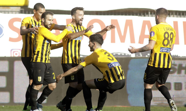 Άρης-Πανιώνιος 2-0: «Κίτρινη» ποδοσφαιρική πανδαισία (photos+video)