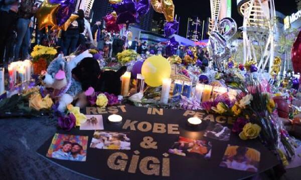 Κόμπι Μπράιαντ: Μάζεψαν από το Staples Center όσα άφησαν στη μνήμη του οι οπαδοί (photos)