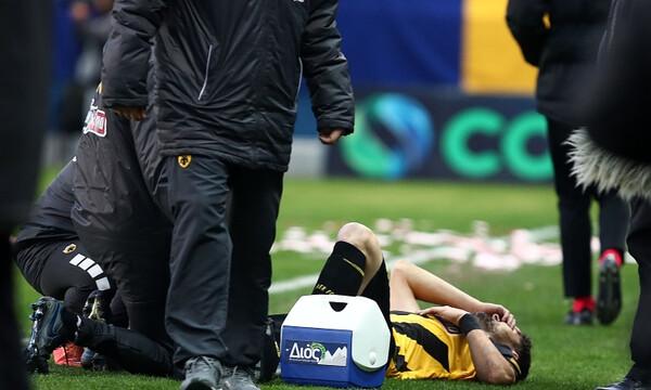 Παναιτωλικός-ΑΕΚ: Τραβούσε τα... μαλλιά του ο Καρέρα, αποχώρησε ο Αλμπάνης (photos)