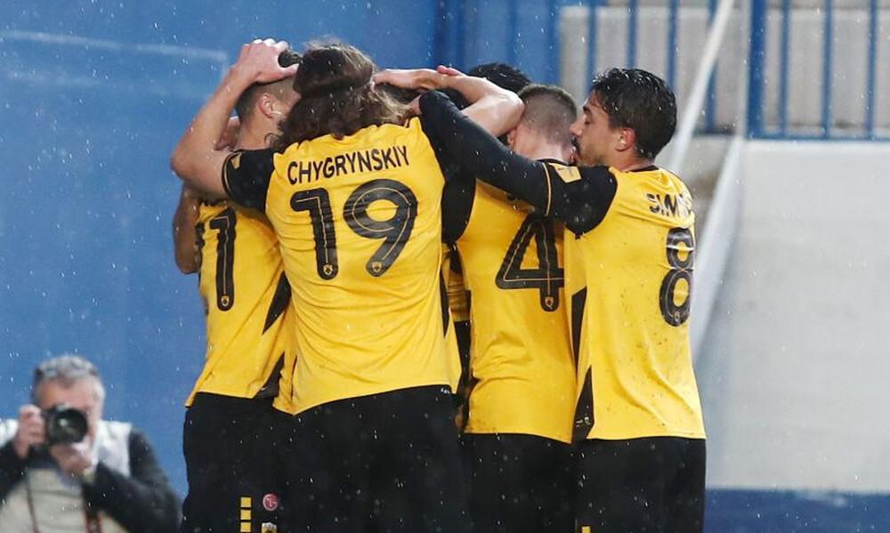 Παναιτωλικός – ΑΕΚ 0-1: «Κιτρινόμαυρο» προβάδισμα με Σβάρνα (video+photos)