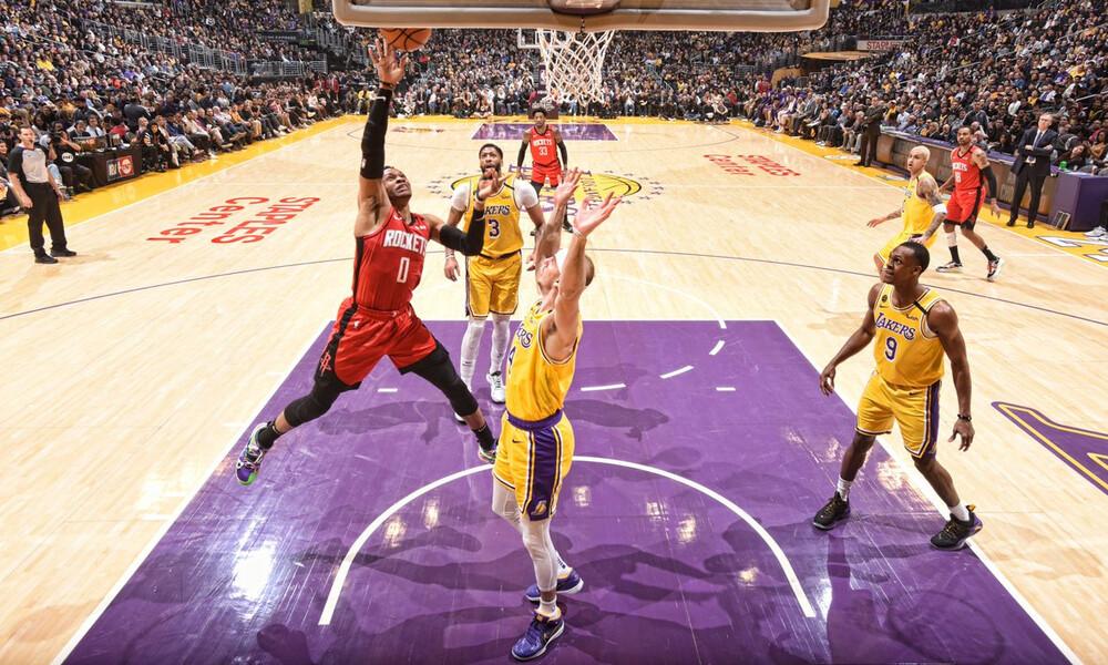 NBA: Σπουδαία νίκη για Ρόκετς στο Staples Center (video)