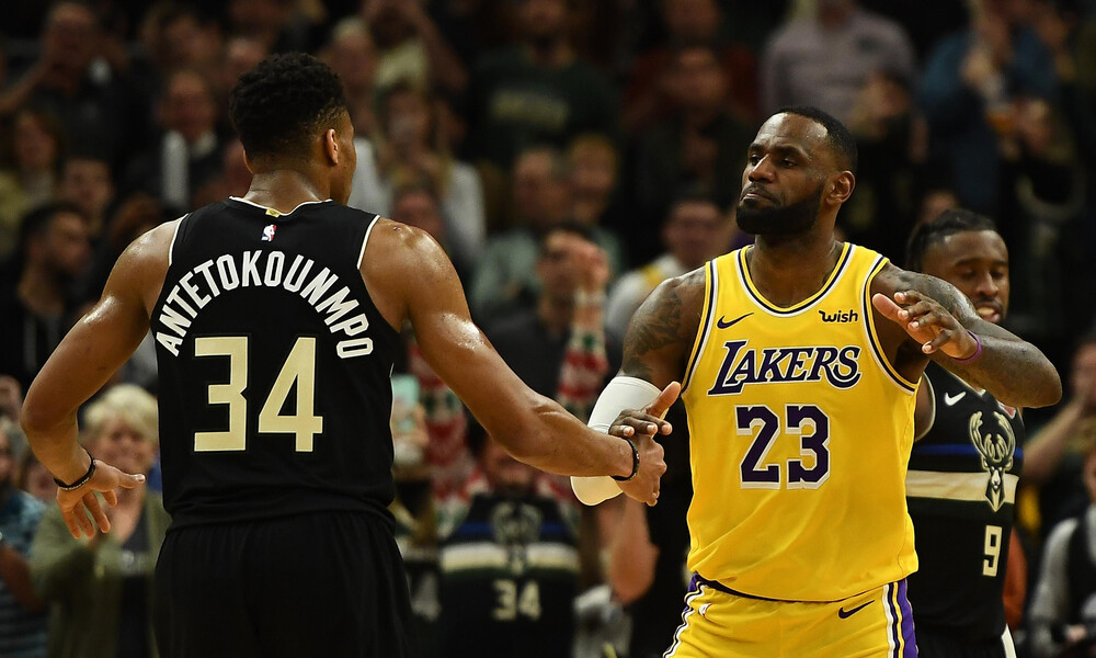 NBA: Οι επιλογές του Αντετοκούνμπο και του Λεμπρόν για το All Star Game