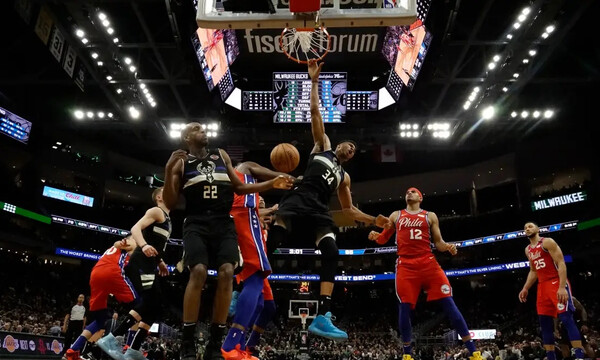 NBA: Σάρωσε τους Σίξερς ο Γιάννης Αντετοκούνμπο! (video)