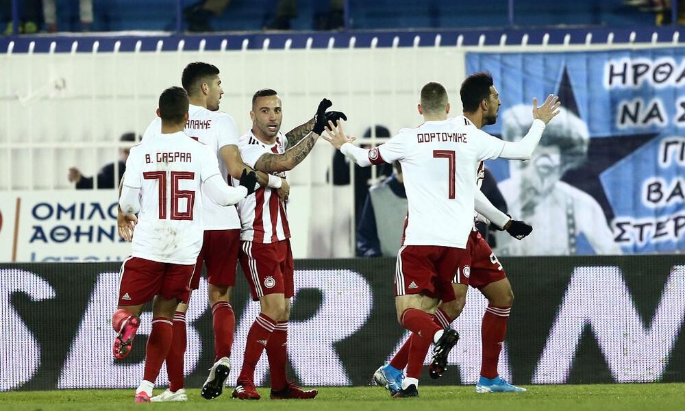 Ατρόμητος-Ολυμπιακός 0-1: Έτσι απέδρασε από το Περιστέρι (photos+video)