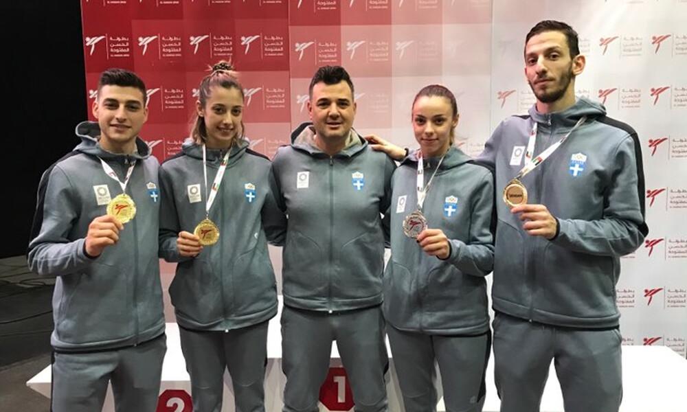 Τέσσερα μετάλλια για την προολυμπιακή ομάδα ταεκβοντό