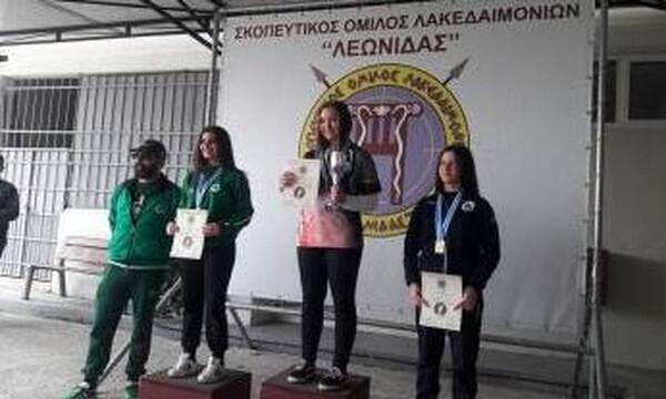 Σκοποβολή: Μετάλλια σε Θεσσαλονίκη και Σπάρτη