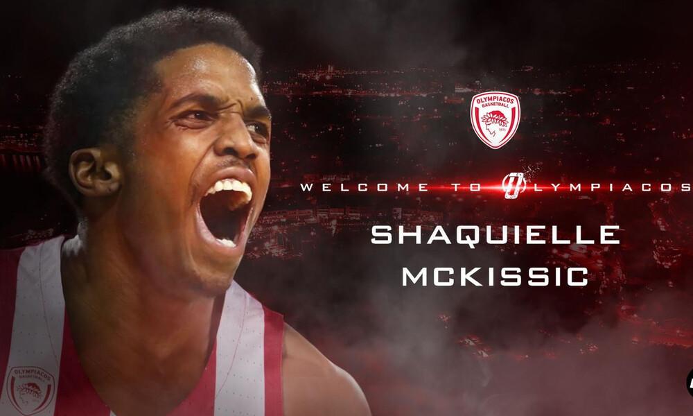 Ολυμπιακός: Ανακοίνωσε τον ΜακΚίσικ