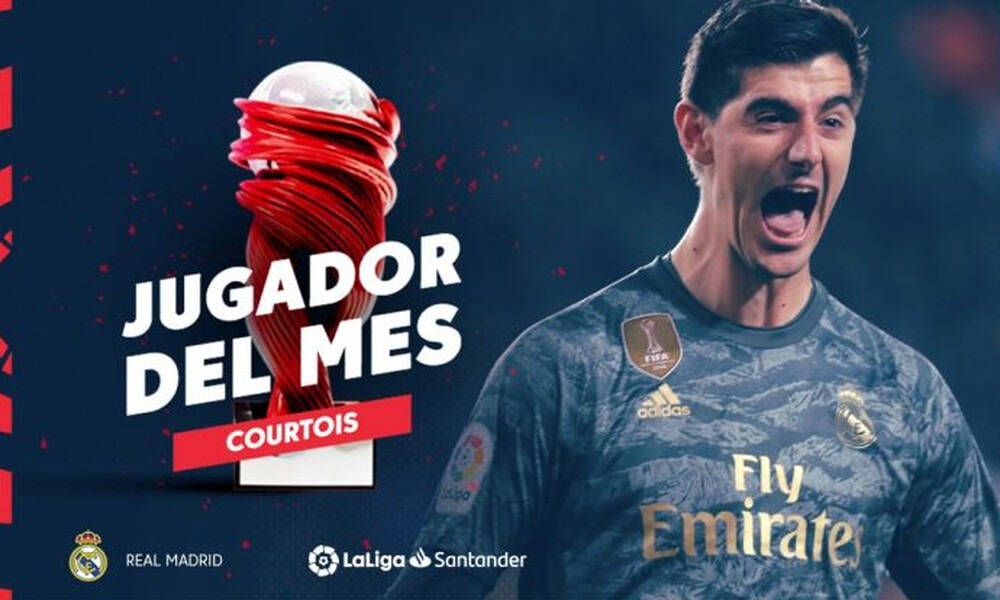 La Liga: Παίκτης του μήνα ο Κουρτουά (video)