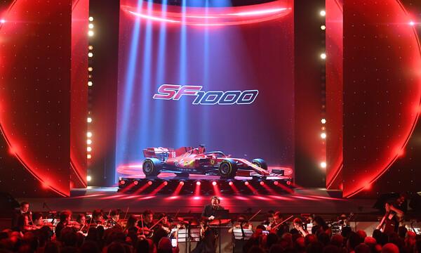 Formula 1: Η Ferrari παρουσίασε την SF1000 (video)