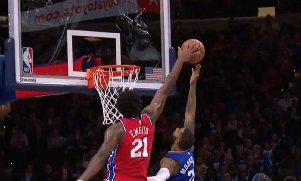 NBA: Ο Εμπίντ έσβησε τα «φώτα»  στην κορυφή του ΤΟΡ-5! (video)