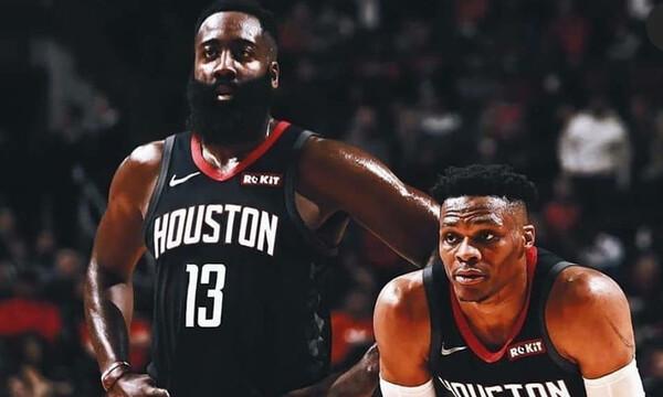 NBA: Τα «όργια» των Ουέστμπρουκ και Χάρντεν κόντρα στους Σέλτικς! (photos+video)