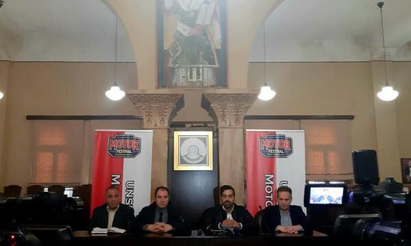 Η αντίστροφη μέτρηση για το 16ο Motor Festival των Ιωαννίνων κηρύχθηκε στο δημαρχείο της πόλης!