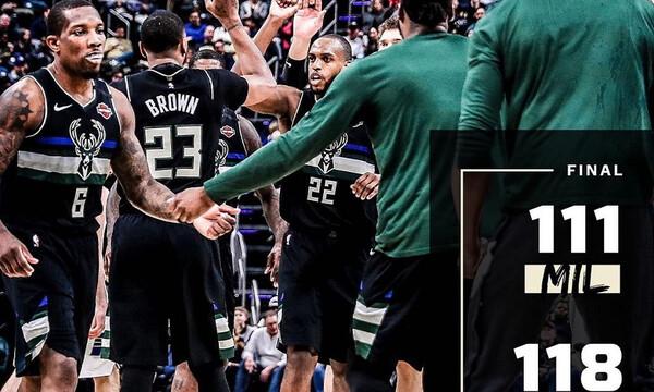 NBA: Ήττα χωρίς Γιάννη για Μπακς (video)