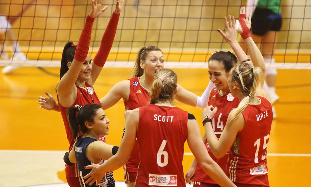 ΑΕΚ - Ολυμπιακός στους «8» του Κυπέλλου γυναικών!